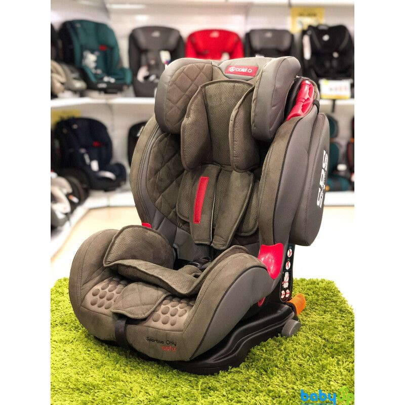 Автокрісло COLETTO Sportivo ONLY ISOFIX 9-36 grey