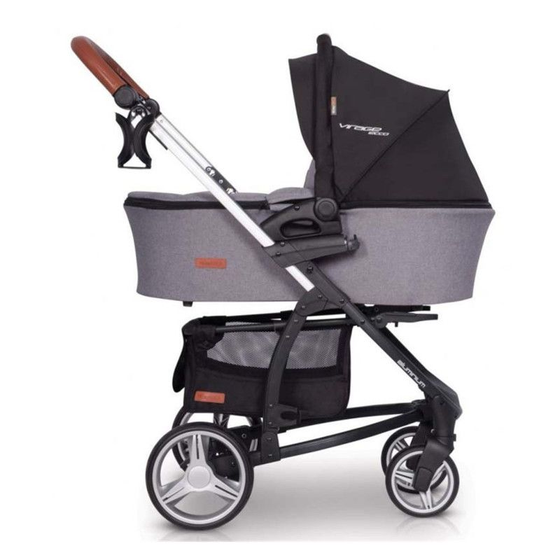 Коляска EASY GO VIRAGE ECCO 2019 2в1 anthracite - 4