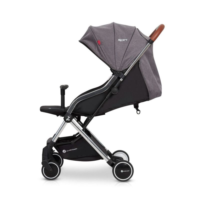 Прогулянкова коляска EURO CART SPIN anthracite - 3