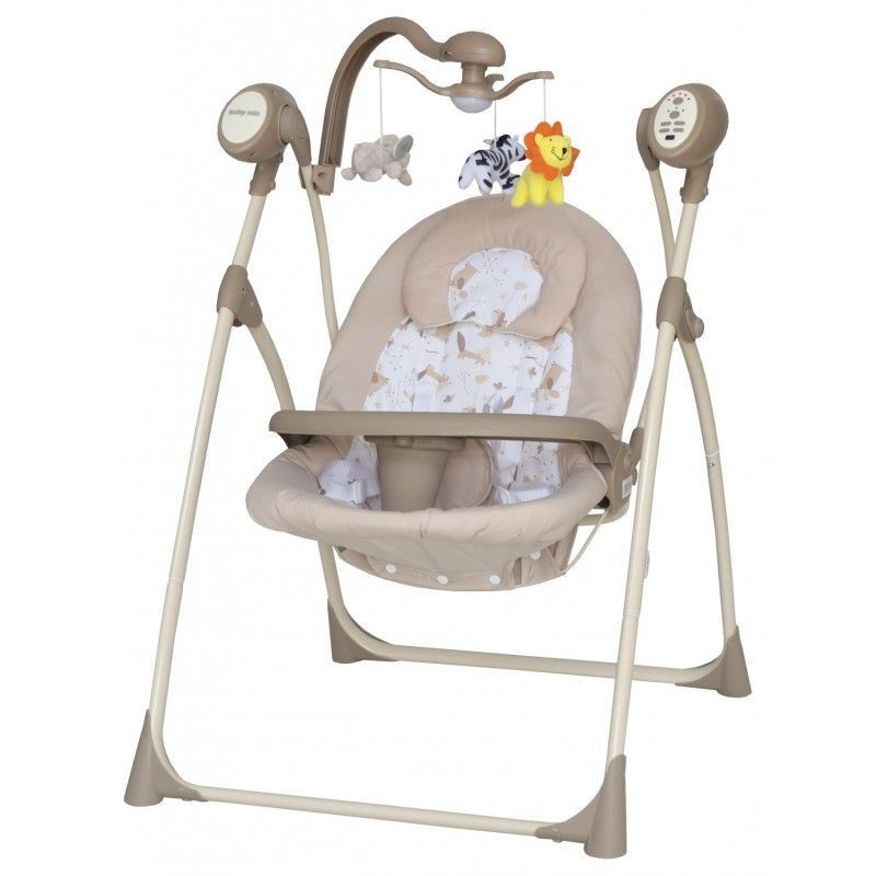 Гойдалка Baby Mix SW102RC beige