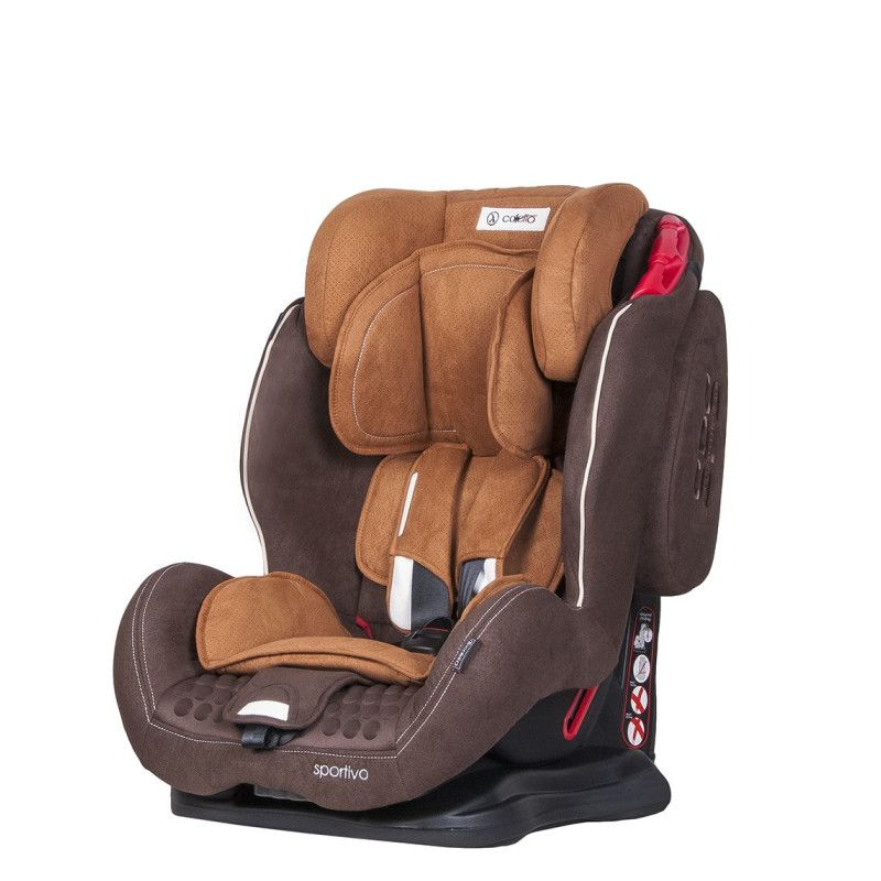Автокрісло COLETTO Sportivo 9-36 brown