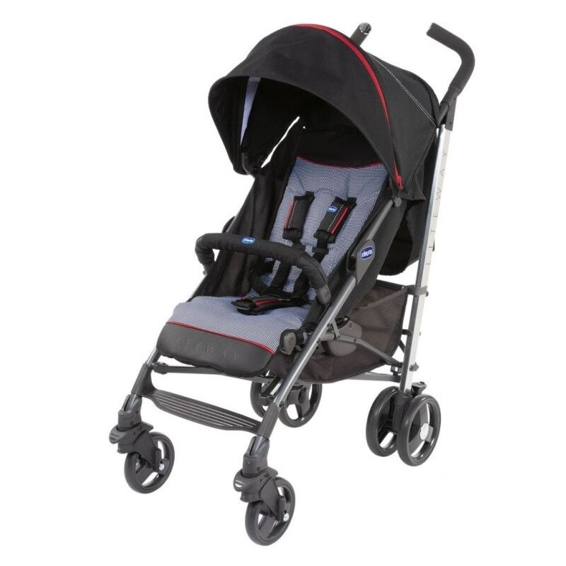 Коляска тростинка Chicco Lite Way 3 Top Stroller Special Edition Pied Poule