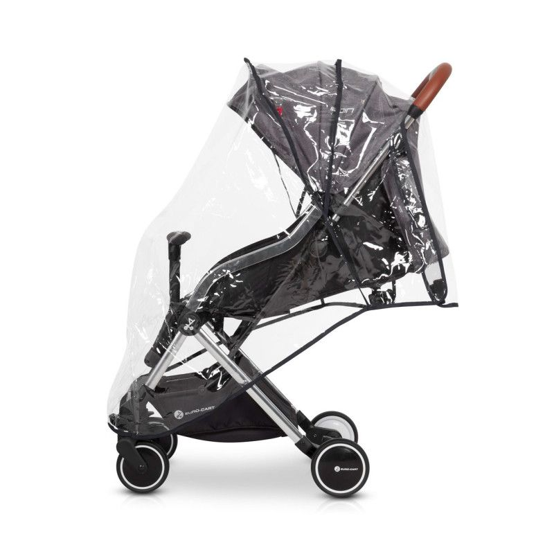 Прогулянкова коляска EURO CART SPIN anthracite - 5