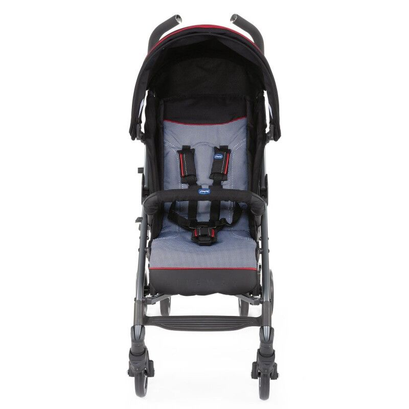 Коляска тростинка Chicco Lite Way 3 Top Stroller Special Edition Pied Poule - 2