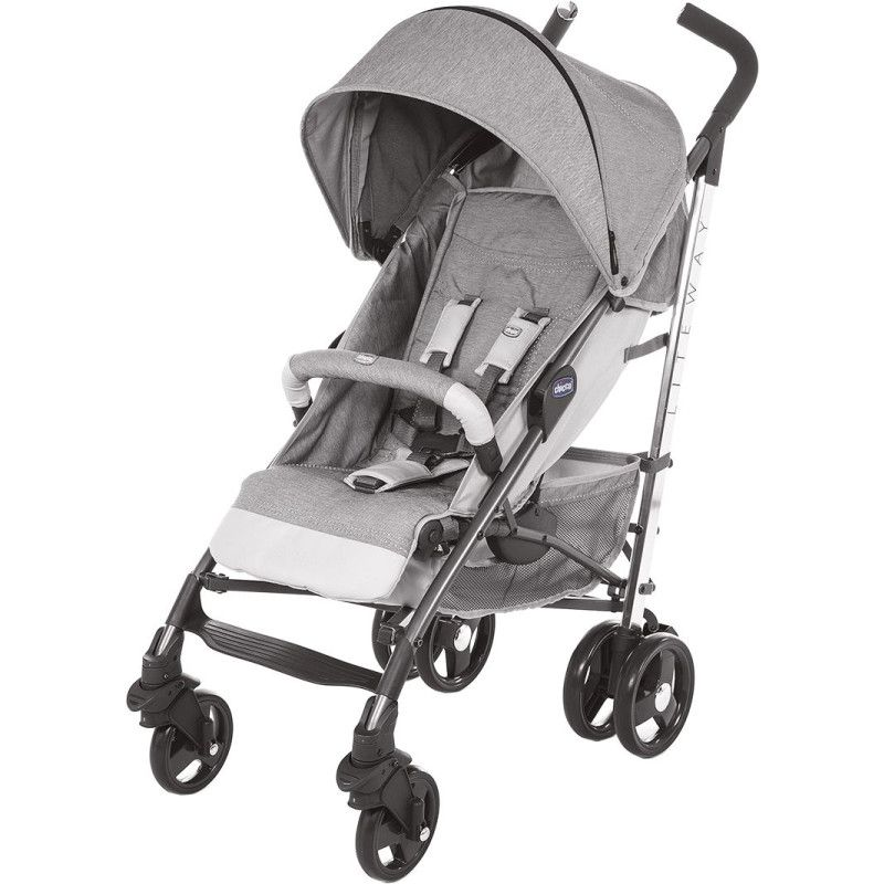 Коляска тростинка Chicco Lite Way 3 Top Stroller Special Edition колір 84
