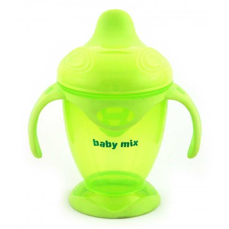 Поїлка-непроливайка Baby Mix 200 ml RA-C1-1711 green