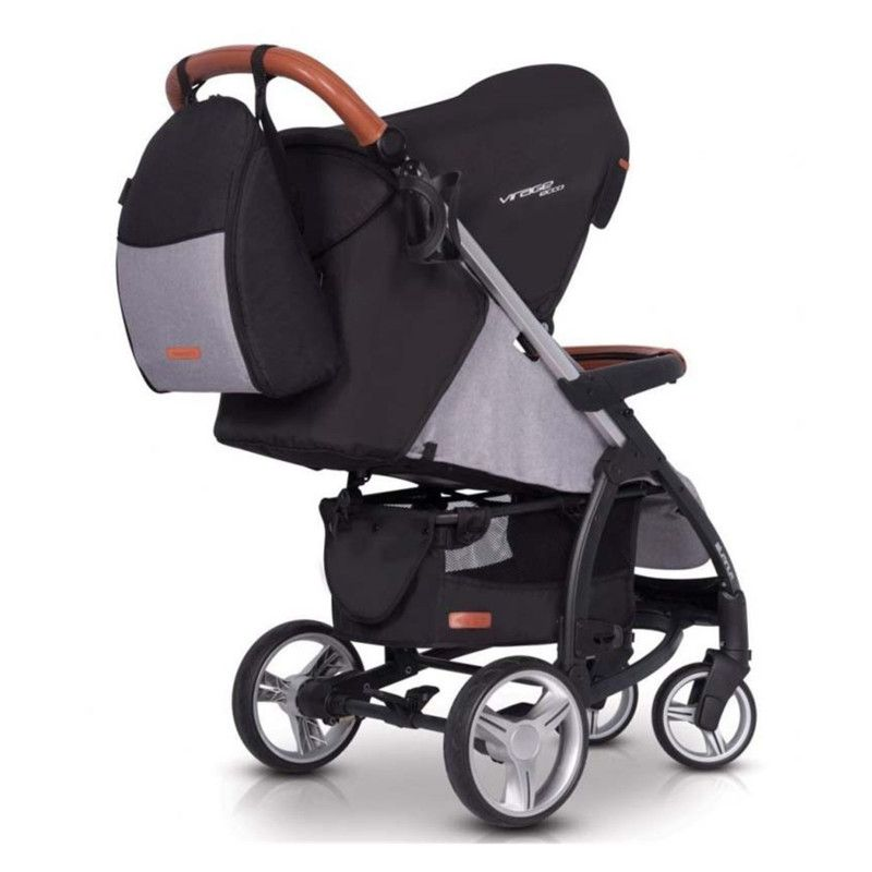 Коляска EASY GO VIRAGE ECCO 2019 2в1 anthracite - 15