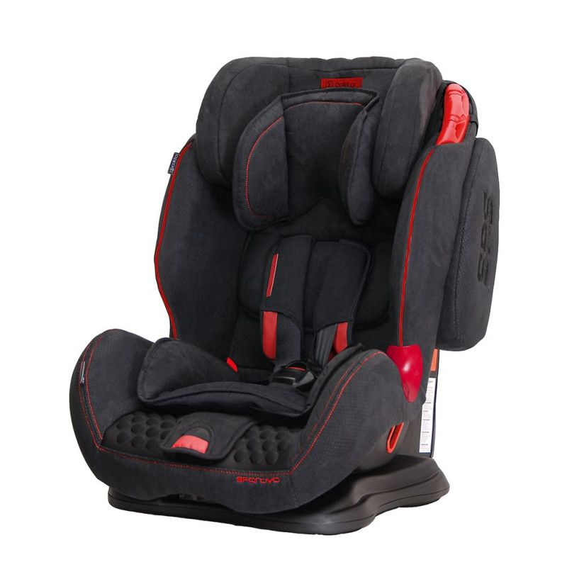 Автокрісло COLETTO Sportivo 9-36 black new